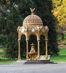 Ornate Cast Iron Fountain