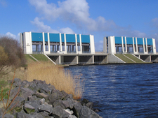 Sluice At Lauwersoog