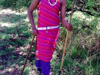Laz Maasai Dress