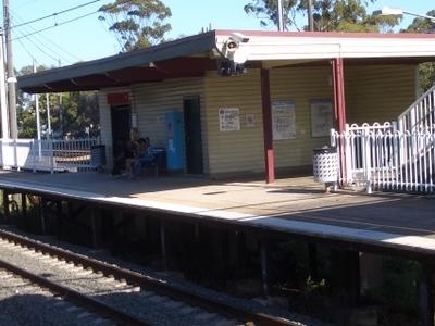 Leightonfield Railway Station South Platform