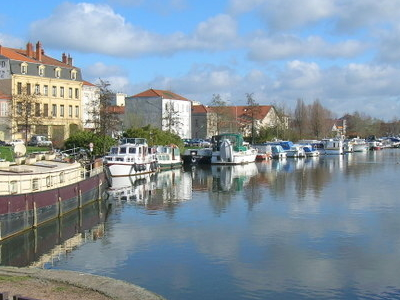 The River Port Of Roanne