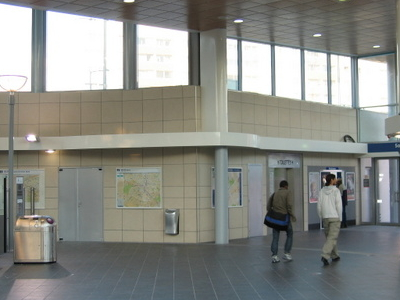 Les Agnettes Ticket Hall