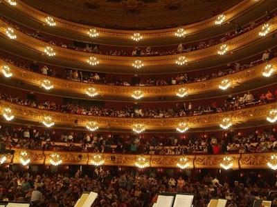 Inside Of Gran Teatre Del Liceu