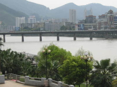 Liedong Bridge  Over Sha River