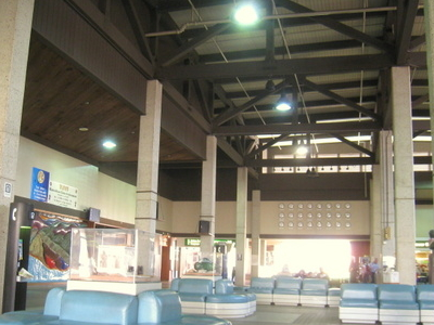 Inside The Airport Terminal