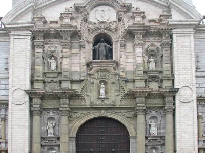 Lima Cathedral Main Facade