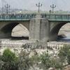 Rimac River Running Through Lima