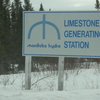 Limestone Generating Station Entrance Sign