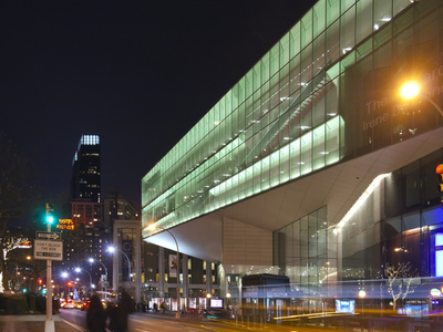 Alice Tully Hall In Its Context