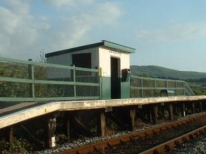 Llandecwyn la estación de tren