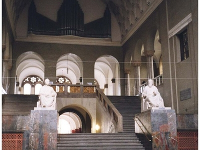 Main Staircase Of The University
