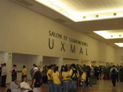 Lobby Of The  Siglo  XXI  Convention  Centre