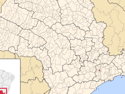 Location In The State Of So Paulo And Brazil