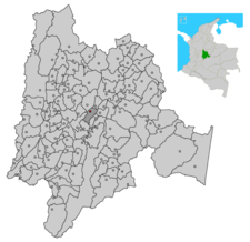 Tenjo In Cundinamarca Department