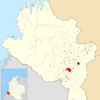 Location Of The Municipality And Town Of Imues In The Nario Depa