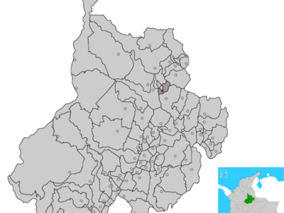 Town And Municipality Of Floridablanca In The Santander Departme