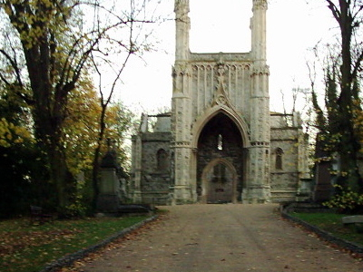 Nunhead Cemetery Entrance
