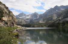 Long Lake In Little Lakes Valley