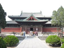 The Manichean Hall Of The Longxing Monastery