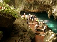 Los Tres Ojos Cave