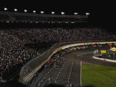 Night Racing At CMS