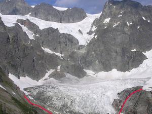 Lower Curtis Glaciar