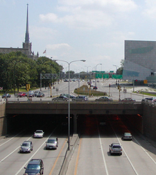 Entrance Of Lowry Hill Tunnel