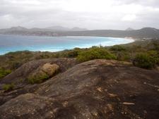 Overlooking Lucky Bay
