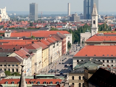 Ludwigstrasse From Above
