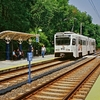 Lutherville 2 8 Md 2 9 Light Rail Station