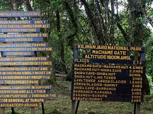 Machame Route Info