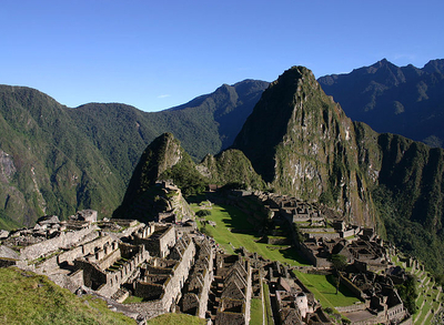 Machu Picchu Early Morning