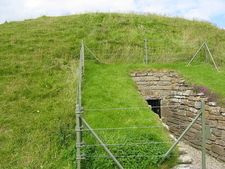 Maeshowe Entrance - Mainland - Orkney - Scotland