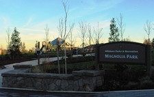 Magnolia Park Entrance - Hillsboro OR