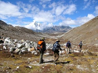 Mahalangur Himal Landscape - Nepal