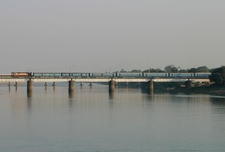 Mahanadi Cuttack Railway Bridge