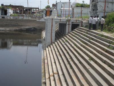 Maheshwaram Temple Lake View