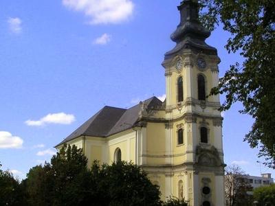 Main Church In The Center Of Jaszberény