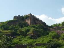 Main Fort From The Hillside