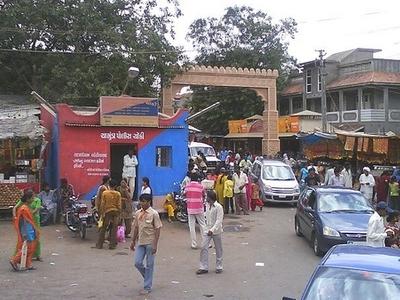 Main Gate Of Chotila Mandir