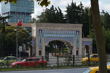 Main Gate Of The Cemetery