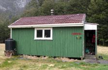 Main Huxley Forks Hut