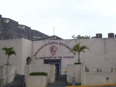 Main Offices Of The San Juan National Historic Site.