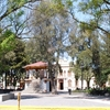 Main Plaza Of Zinacantepec