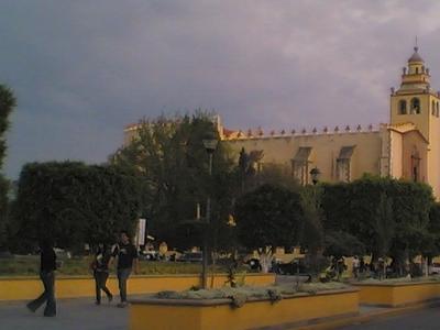 Main Plaza Of Ixmiquilpan