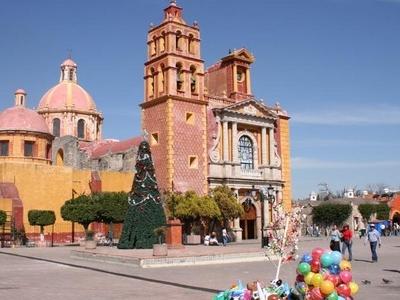 Main Plaza In Tequisquiapan