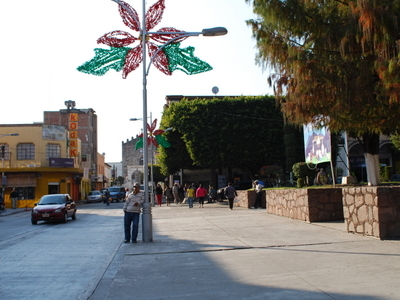 Main Plaza And 5 De Mayo Street