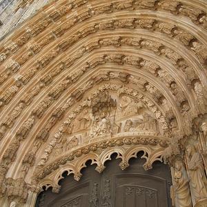 Main Portal With Tympanum And Archivolts.