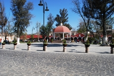 Main Plaza Of The Town