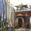 Main Shrine Of Pemangytse Gompa